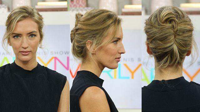 One Hairstyle, Two Ways: Medium Hair