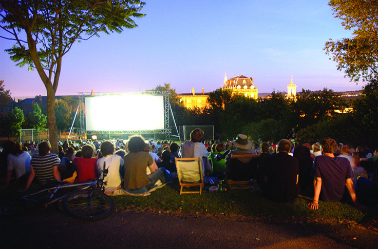 The Big Screen in the Park