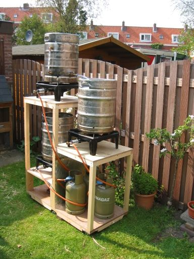 Installation for beer homebrewing