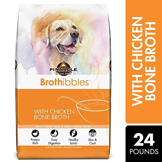 Pinnacle Pet Brothibbles Duck Turkey Meal And Sweet Potato Recipe With Chicken Bone Broth All Life Stage Dog Food Recipes Turkey Recipes Sweet Potato Recipes