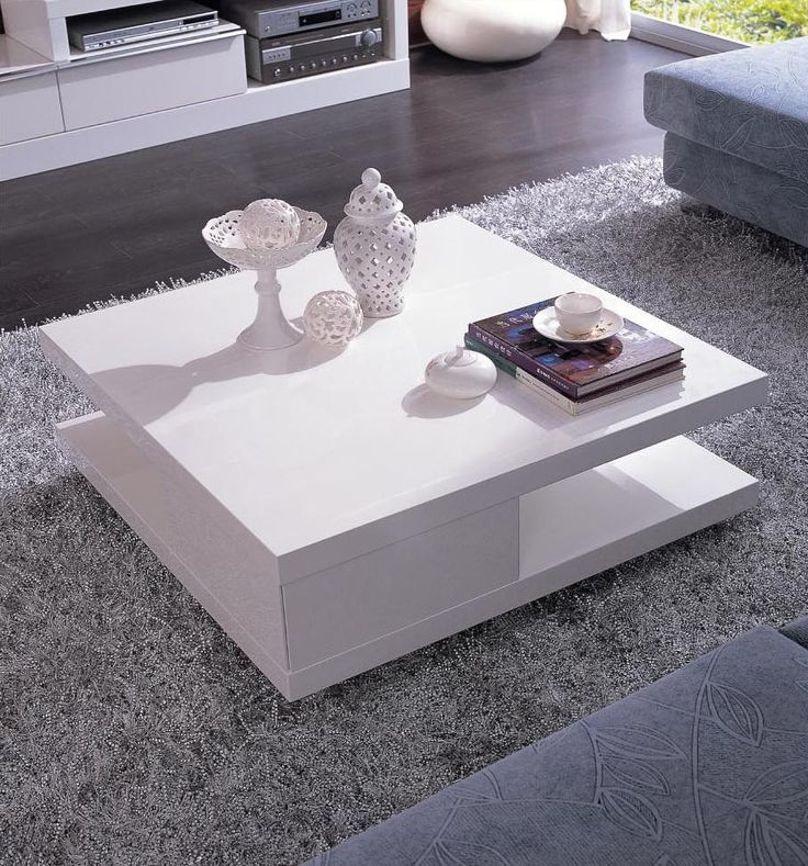 white square coffee table - Google Search