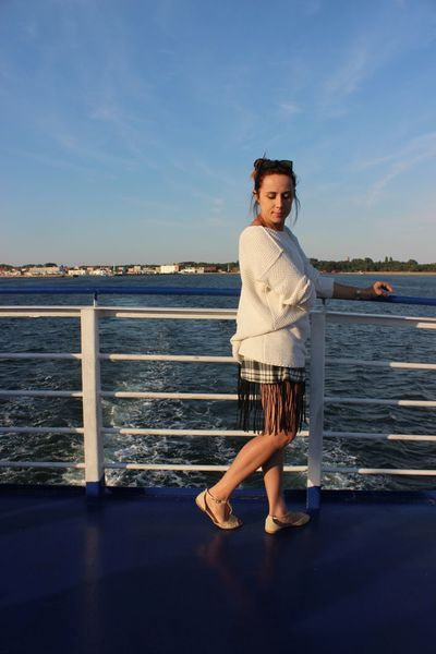 szorty w kratę z frędzlami w NG - Natalia Gorzołka  na DaWanda.com