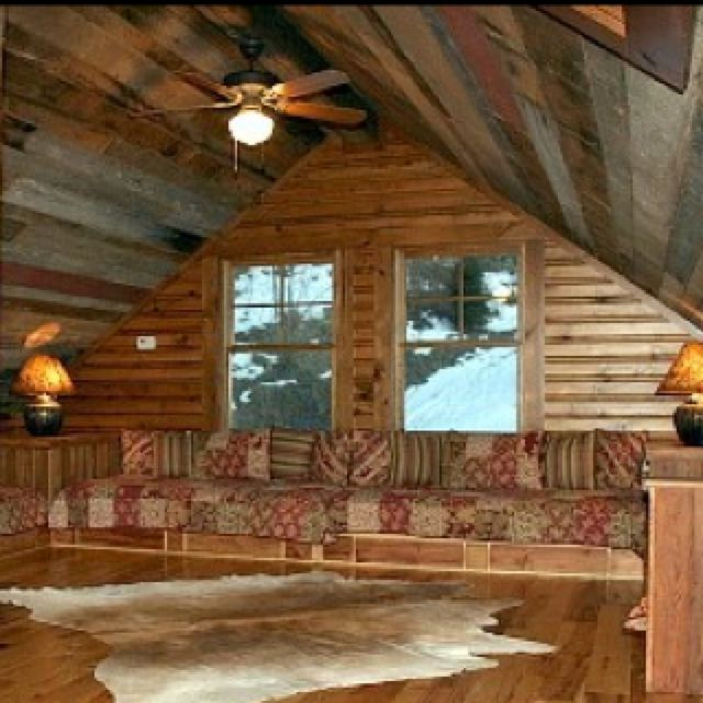 Reclaimed Wood Ceiling Modern Log Cottage Pinterest