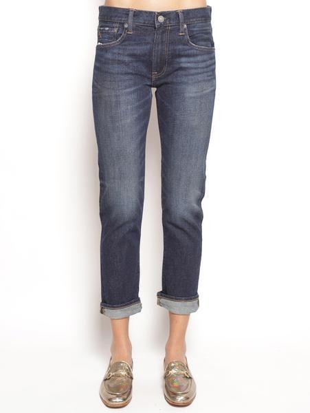 POLO RALPH LAUREN Jeans corti aderenti - Slim Crop Denim Jeans - TRYMEShop
