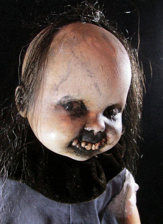 141 best Doll images on Pinterest Halloween prop, Halloween labels - scary halloween props