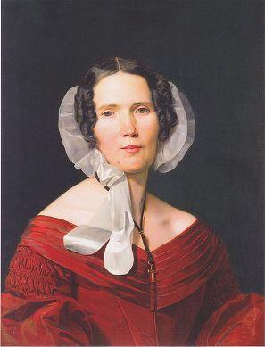 Frau von Bartsch, 1842 (Ferdinand Georg Waldmuller) (1793-1865) Wien Museum