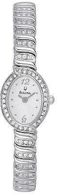 Bulova Women's Crystal Watch 96T53