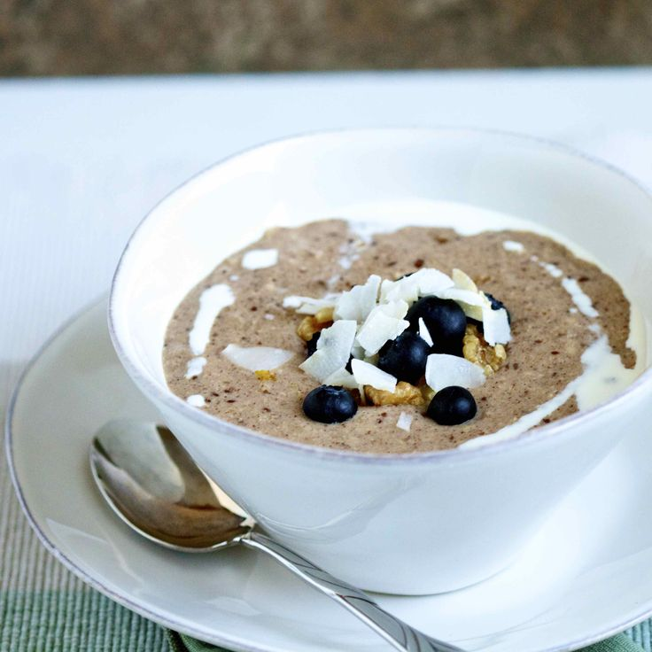 Easy and delicious grain and dairy-free hot cereal substitute, paleo and vegan friendly.
