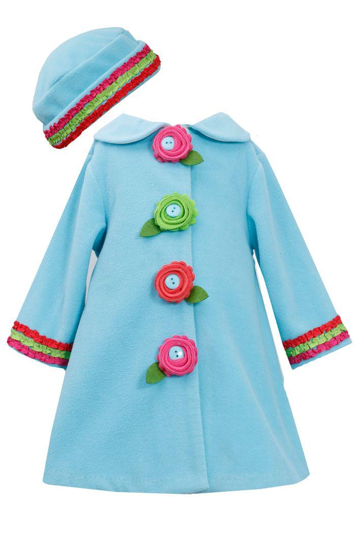 Gül Detaylı Çocuk Manto - Şapka Set http://www.bamgaga.com/urun/gul-detayli-cocuk-manto-sapka-set/154