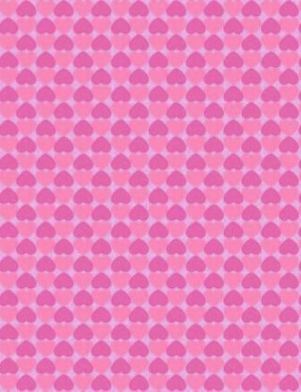Pastel Pinks Heart Background