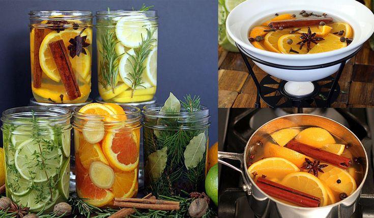 Como hacer un aromatizante natural en casa