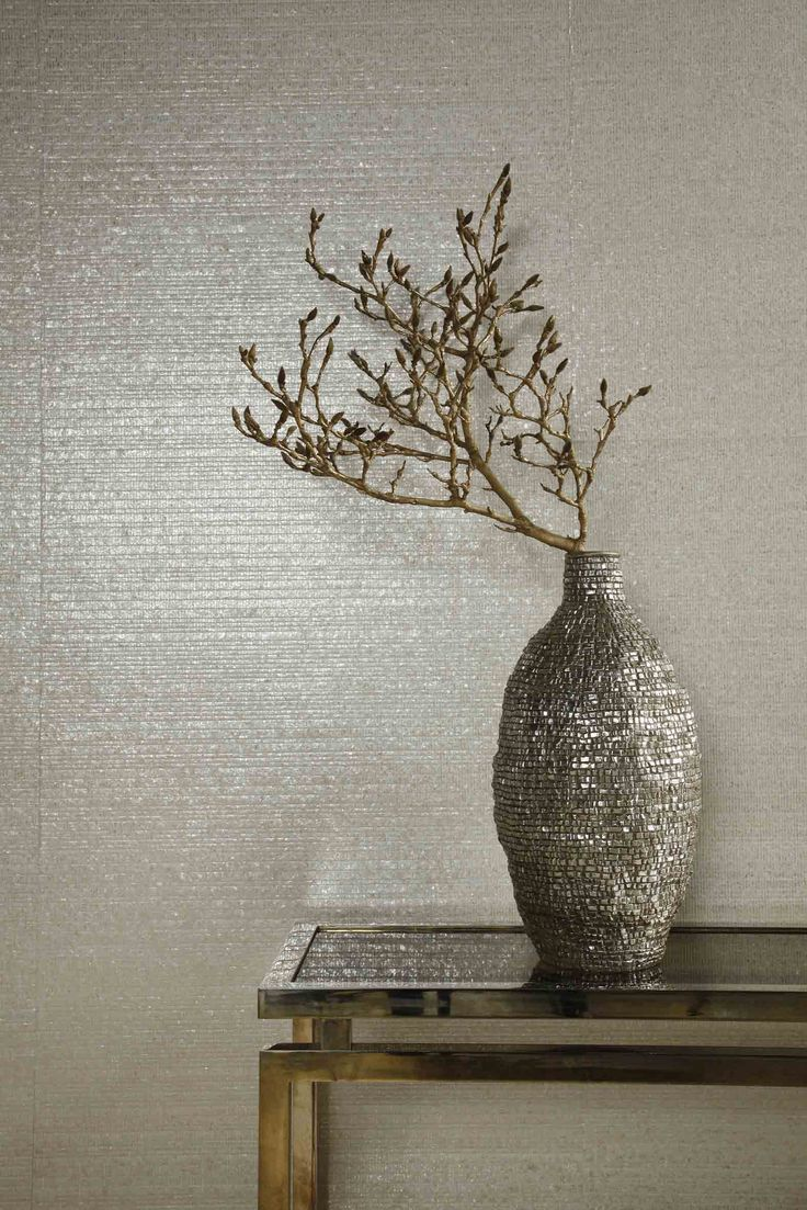 Wall covering from Sumatra, Omexco, Goodrich. #GoodrichGlobal #PoshLiving #GoodDesign
