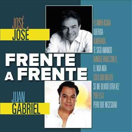 This FRENTE A FRENTE album from the SONY U.S. LATIN series is a great collection of songs performed by JOSE JOSE and JUAN GABRIEL.
