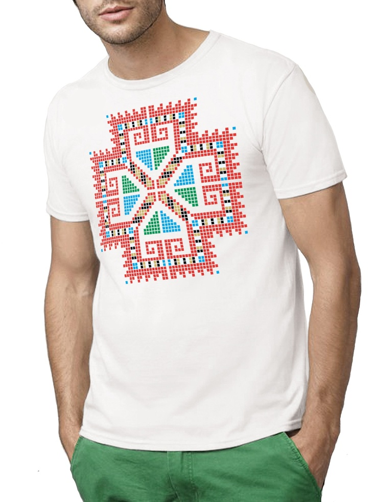 tricou mandala romaneasca