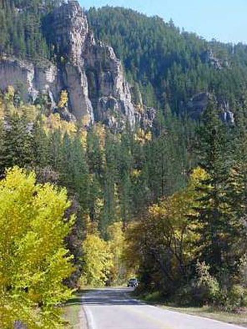 Spearfish canyon!  I rode this with my dad during the Sturgis Rally 2005.