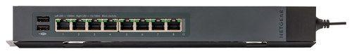 NETGEAR - ProSafe 8-Port Click Switch - Black