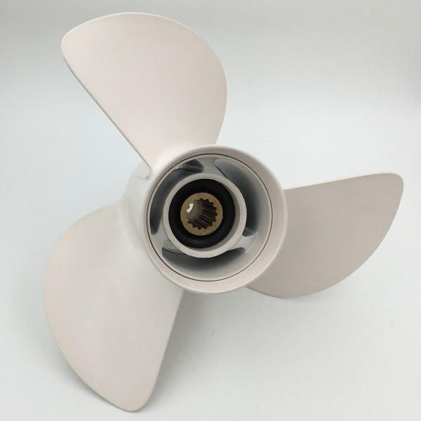 Outboard Propeller Aluminum 13 x19 For Yamaha 50-130HP 6E5-45941-00-EL
