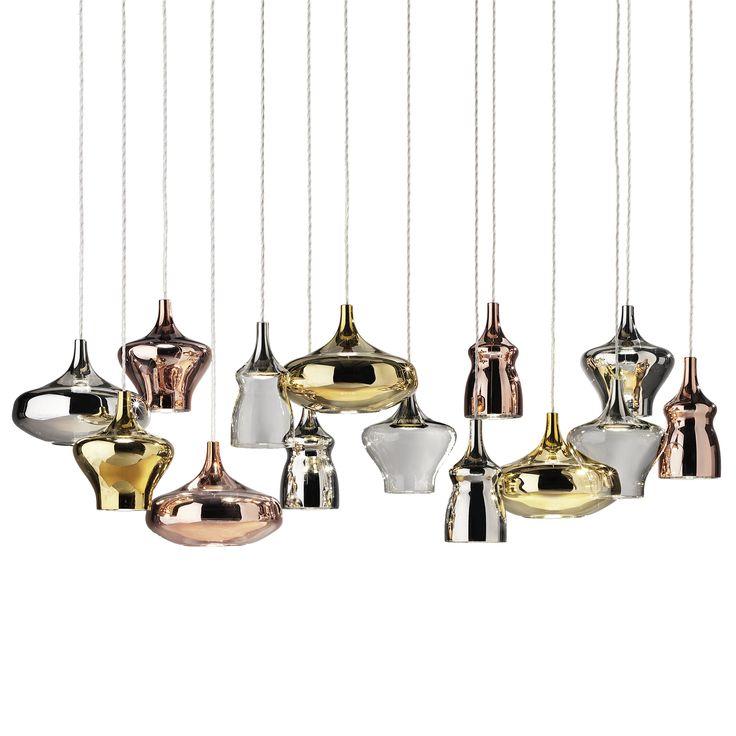 Nostalgia Pendant Cluster 14 by Studio Italia Design on ECC