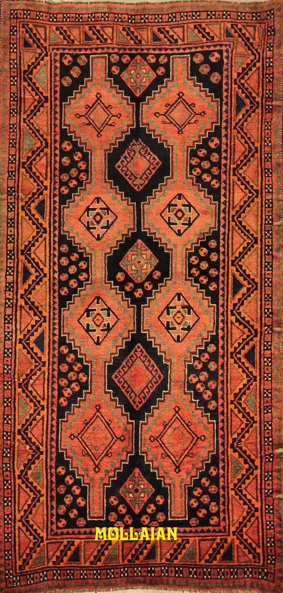 Mollaian Tappeti, Kashkuli d'epoca Persia 260x137