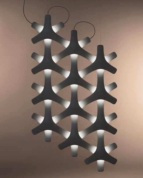 Synapse lighting by Francisco Gomez Paz for Luceplan