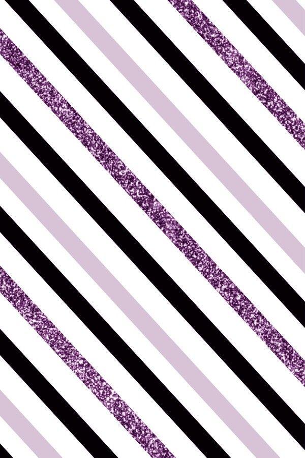 Purple And Black Stripes