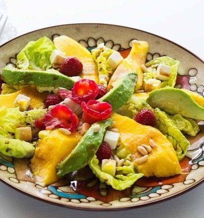 Ensaladas agridulces para disfrutar y compartir #recetas