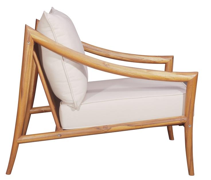 Outdoor Chair Teak by Dax/Sierra