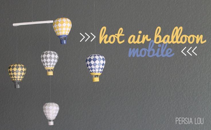 Diy hot air balloon en papier