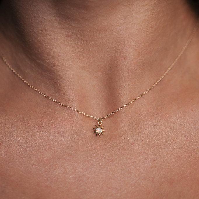 Starburst Anhänger Halskette – ACCESSORIES – #a…