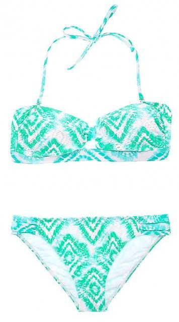 Green Bandeau Bikini Trisha