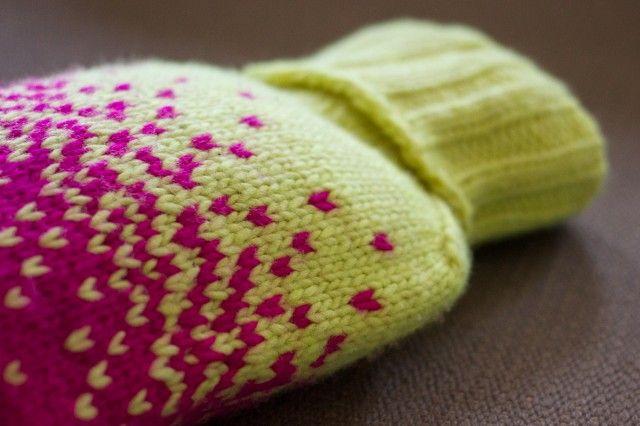 pepperknit | knit hot water bottle cover