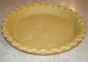 No-Grain Pie Crust
