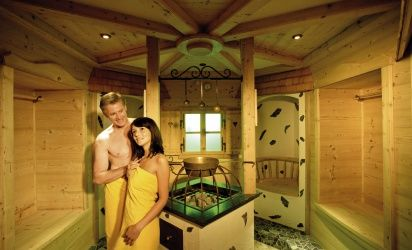 Sauna dreams, touching your body and soul