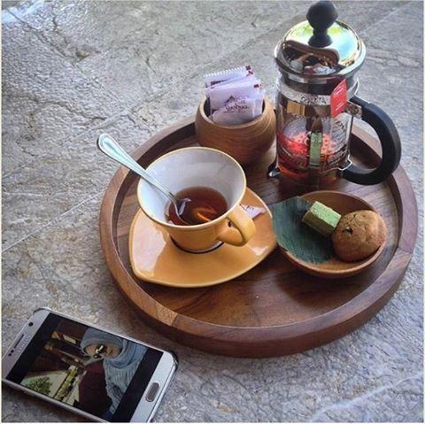 WEBSTA @ ayodyabali - A delightful afternoon tea time. 🍵 📷 : @meitysulistyawati #teatime #relax #break #ayodyabali