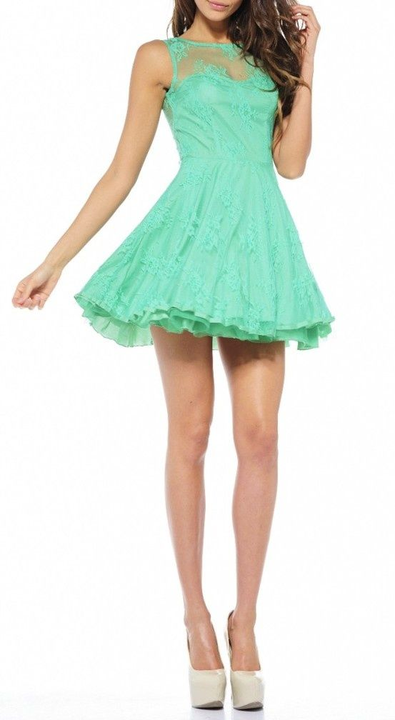 I will have a green dress for our 10-year vow renewal ceremony!