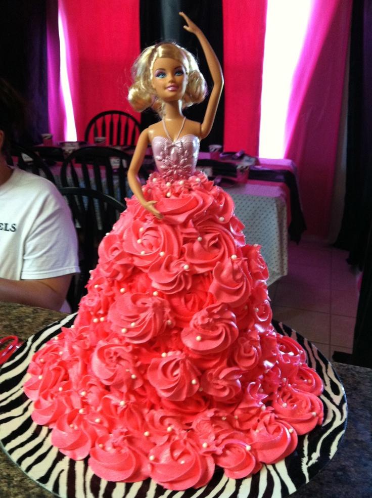 Barbie cake #1