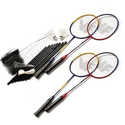 Victor 4 #player garden / #beach badminton #racket, shuttles, net set,  View more on the LINK: http://www.zeppy.io/product/gb/2/221694208588/