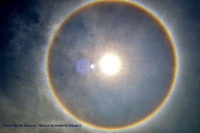 El Halo solar. / Solar halo.