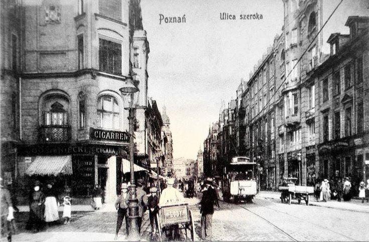 ulica Wielka z początku XX wieku