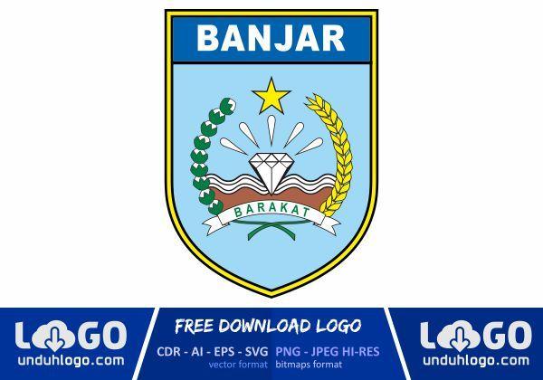 Logo Kabupaten Banjar Logos Vector Logo Design Banjar