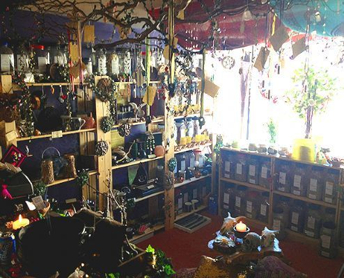 newage stores | view of the inside of our shop