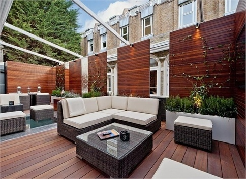 Indian Ocean CUBA Collection on a London Terrace.  Property Details - Rutland Gardens, SW7 - Savills Estate Agents