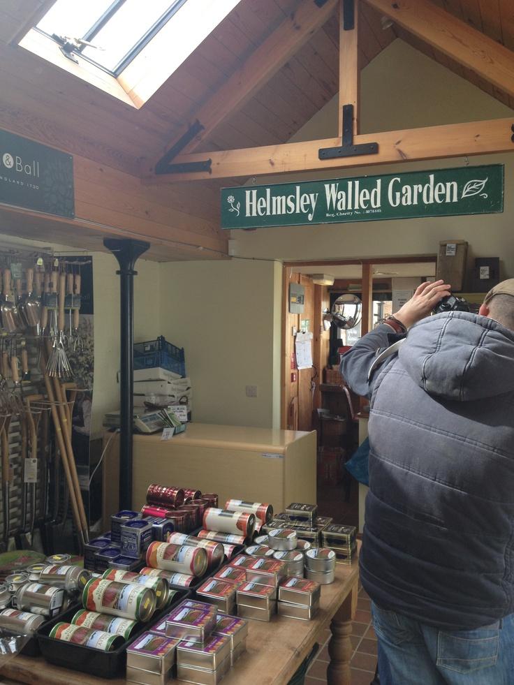 Helmsley Walled Garden's shop
