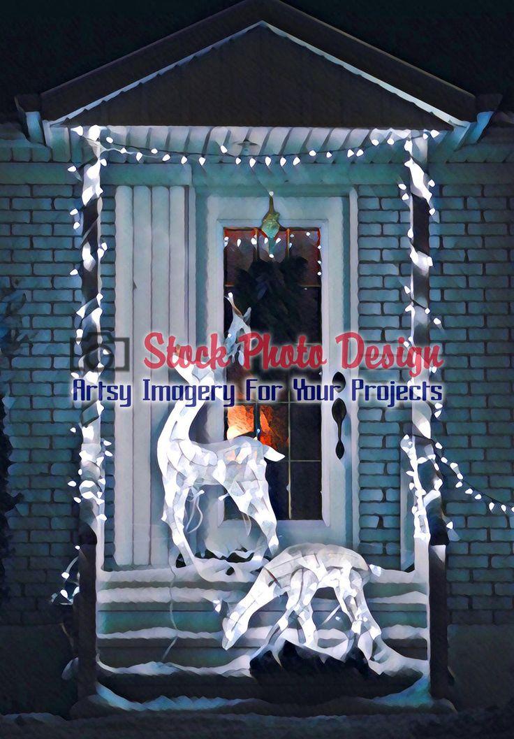 Home Entrance Christmas Decorations -