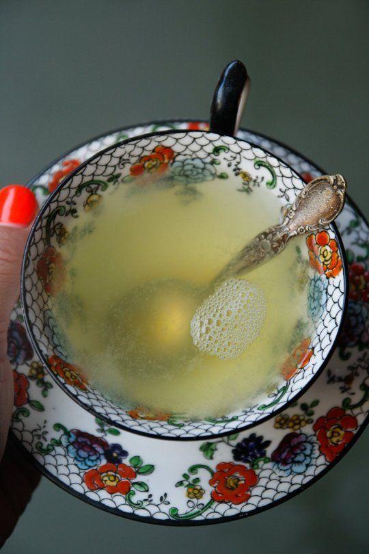 Recipe: Flu Season Ginger Honey Lemon Tonic — Drink Recipes from The Kitchn   The Kitchn