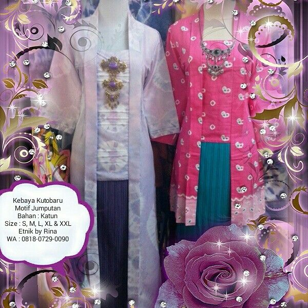 Kebaya Kutobaru Order by WA 0818-0729-0090