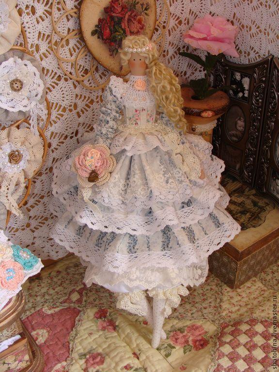 """Будуарная куколка Элен """"Королевская роскошь"""" (Тильда) - разноцветный,Будуарная кукла ♡"""