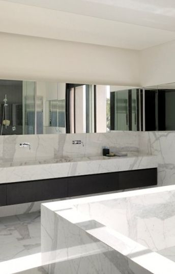 villa yarze in lebanon by rad abillama architects - Bathroom Designs Lebanon