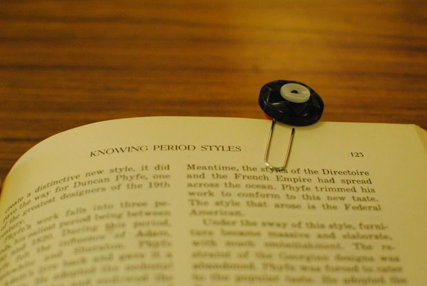 How to create a button bookmark.