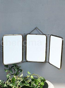 Profile folding mirror